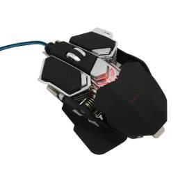 Mouse Gamer Con Base Metálica