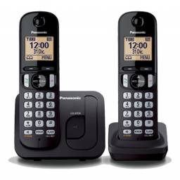 Teléfono inalámbrico de 2 bases Panasonic