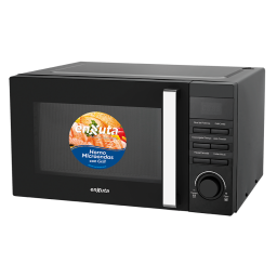 Microondas Enxuta 23Lts digital negro c/Grill