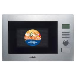 Microondas Enxuta 25Lts digital Inox de empotrar c/Grill