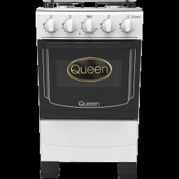Cocina supergas 4 hornallas Queen blanca c/encendido
